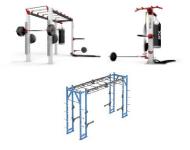 Daugiafunkciniai rėmai funkcinėms ir crossfit treniruotėms