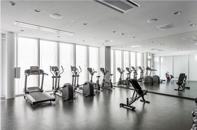 Corporate gym at Apranga Group