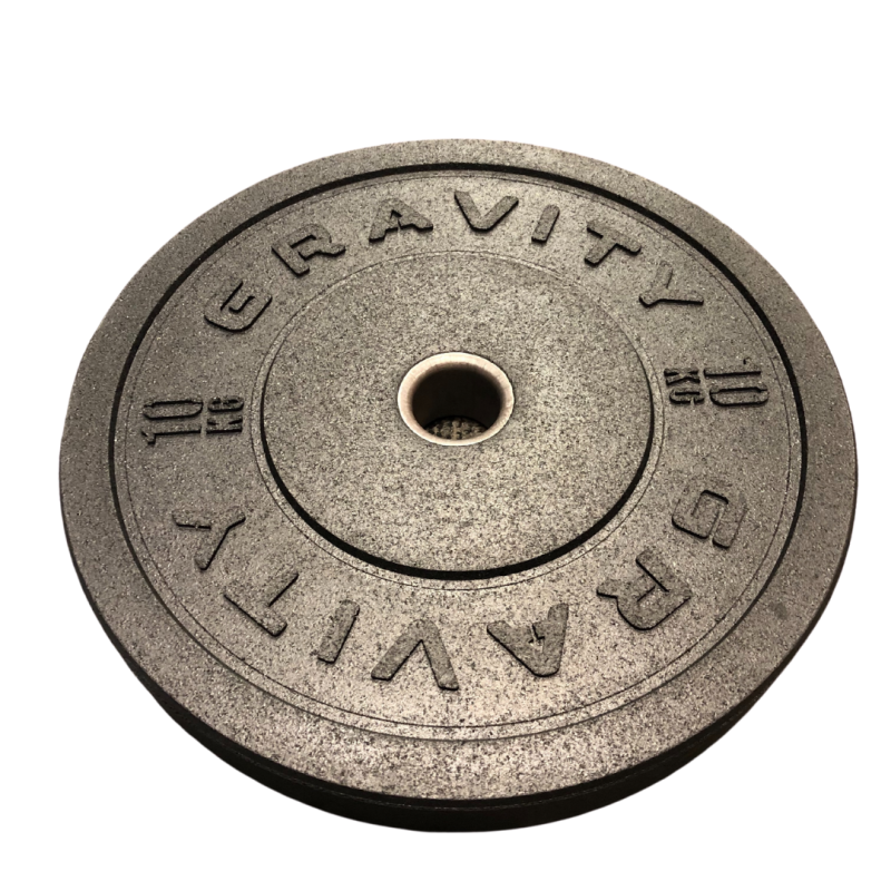 Gravity V Olympic Rubber Bumper Plates